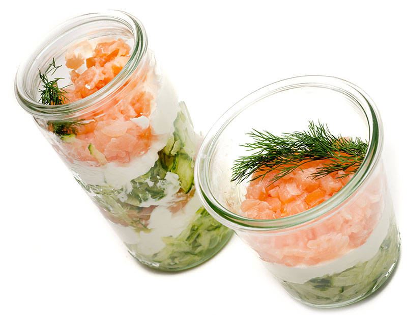 gurke lachs dip partyfood im glas partyfood fingerfood to go food essen aus dem glas. Black Bedroom Furniture Sets. Home Design Ideas